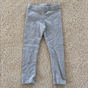 Old Navy Girls 4T Gray Pants Tights